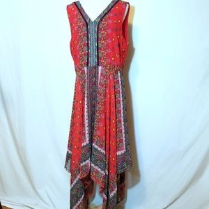 Nanette Lepore Lined Sleeveless Summer Dress Sz 14